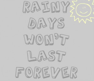 cute quotes about rainy days