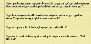 Paul bear Bryant quotes