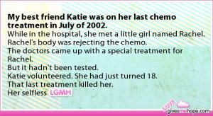 Last Chemo Treatment Poem