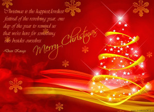 Merry Christmas Quotes Cards
