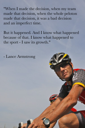 10 Inspirational Lance Armstrong Quotes From His Latest Interview