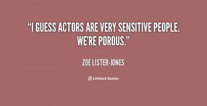 Sensitivity Quotes