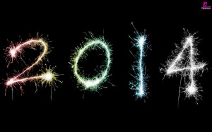 Happy New Years Wishes 2014 HD Wallpaper with Greetings Quotes