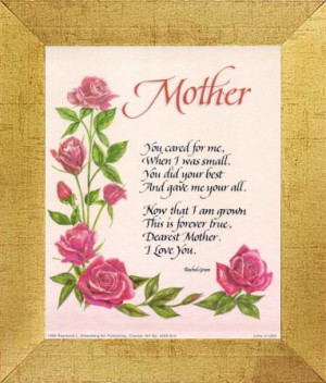 African American Mothers Day Poems Mother's day gifts for the
