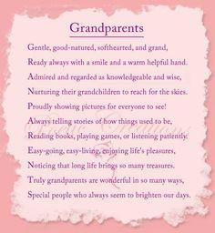 Short Poems Grandparents | ... poems shopping cart testimonials ...