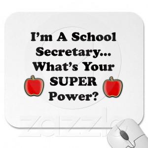 School Secretary Mouse Pads from Zazzle.com