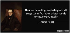 More Thomas Hood Quotes