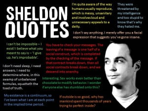 ... bang theory humor · Funny Sheldon Quotes · geek fun · geek humor