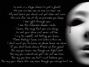 heartbroken quotes broken heart quote alone hd wallpaper for desktop ...