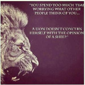 Lion, quote