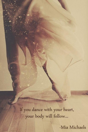 Most popular tags for this image include: dance, heart, love and quote