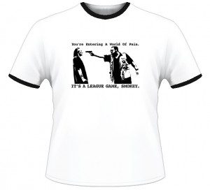 Big Lebowski Movie Walter Sobchak Funny Quote T Shirt