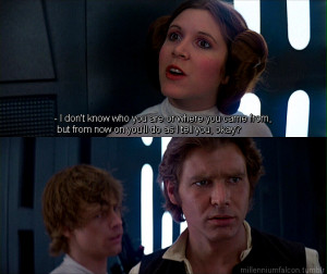 Star Wars Quotes Han Solo Star Wars Han Solo Quotes