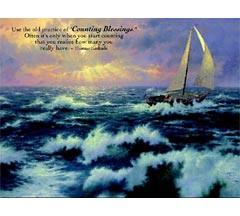 Thomas Kinkade Inspirations 300 Piece Puzzle - Perseverance