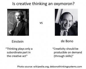 Is creative thinking an oxymoron?