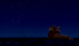 Lion King Quotes Mufasa Look At The Stars