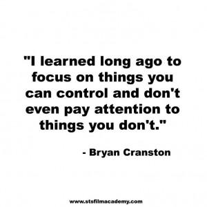 Bryan Cranston Quote