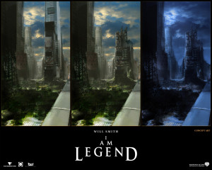 You are viewing a I am Legend Wallpaper