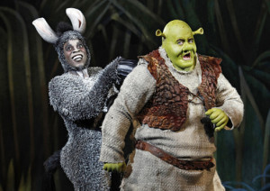 ... Fiona in Shrek: The Musical, playing TPAC's Jackson Hall now through