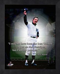 ... -Martin-New-York-Yankees-Black-Wood-Framed-MLB-Pro-Quotes-Photo-8x10
