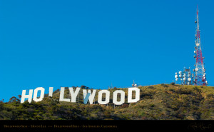 The Famous Hollywood Sign...