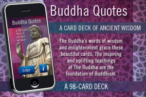 Ancient Wisdom Buddha Quotes iPhone App & Review