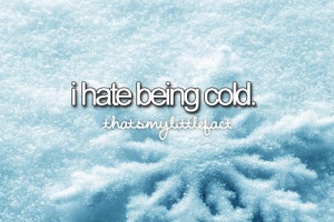 HATE WINTER