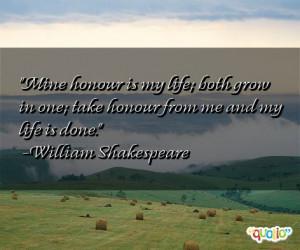 Honour Quotes