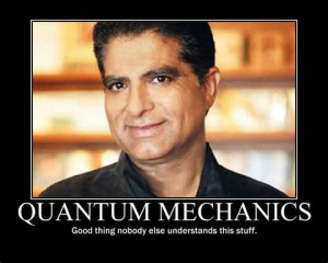 ... rarely, if at all, refer to the basic principles of quantum physics