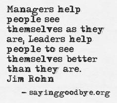 Management quotes/ideas
