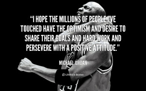 Michael Jordan Quotes About...