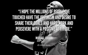 Michael Jordan Quotes About...