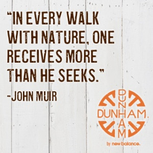Walk with nature... John Muir #quote