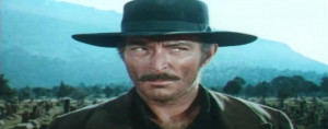 Lee Van Cleef as Sentenza-Angel Eyes in The Good, the Bad and the Ugly ...