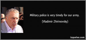 Military Police quote #1