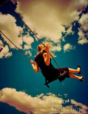 singing swinging up in the sky so high.. luv u hattie lou