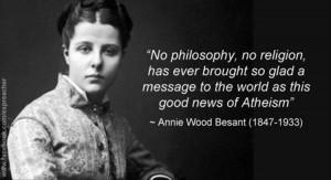 Annie Besant Quotes