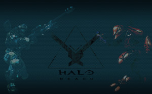halo reach wallpaper spartan and elite Background