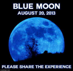 Blue Moon quotes moon earth events