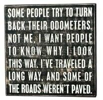 Bumpy roads ...