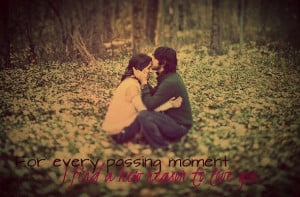 Love Kiss Quotes Love, sitting, kiss, quote,