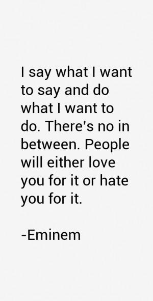 Eminem Quotes & Sayings