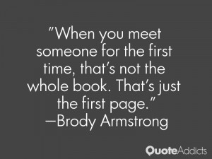 for the first time meeting someone quotes