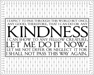 Tags: black and white , kindness , printable quote