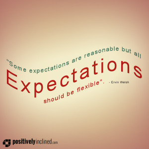 expectations should be flexible on 03 june in quotes some expectations ...