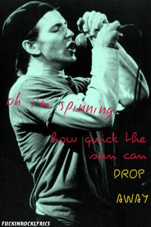 Pearl Jam Quotes Tumblr...
