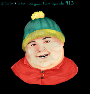 Eric Theodore Cartman -original from episode 913- by Limbust