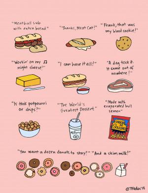 Food Quotes And Sayings Sayings liz lemon made cool