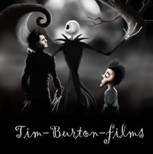 All Graphics » tim burton films