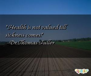 Sickness Quotes